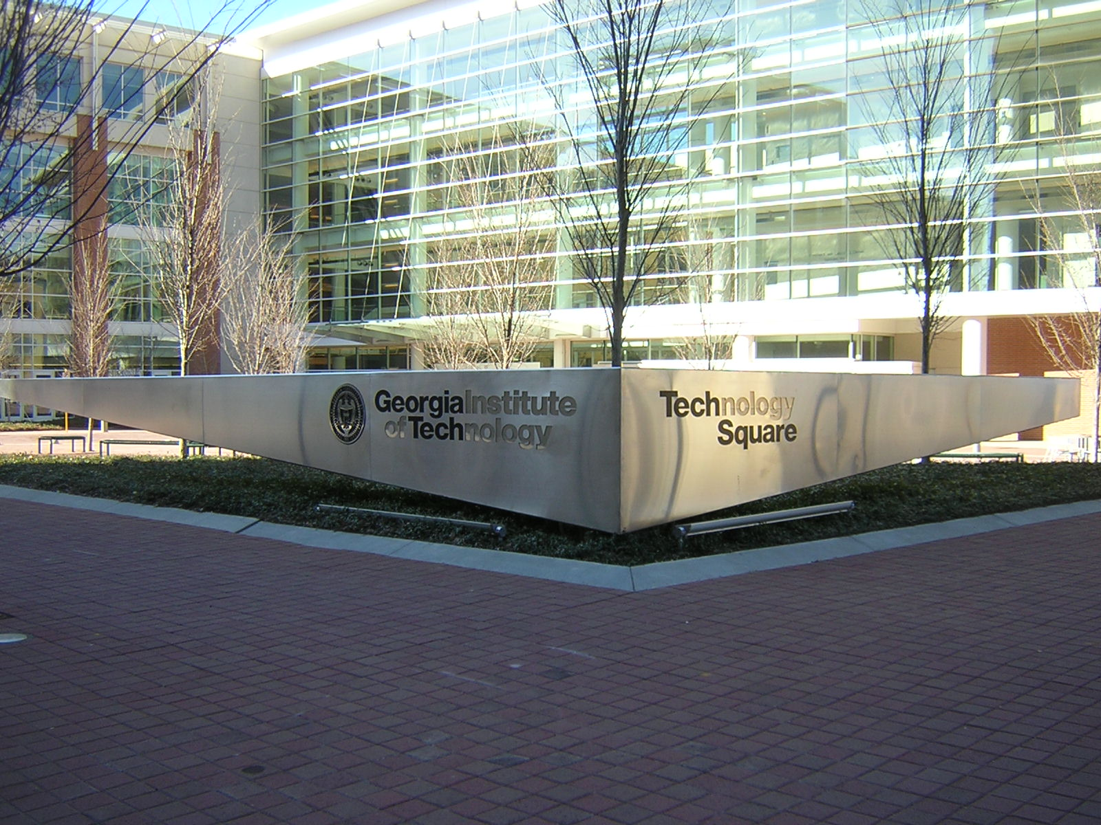 Georgia Tech Square Sign